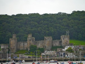 The UNECO World Heritage Site Conwy CAstle