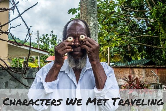 Characters we met Traveling